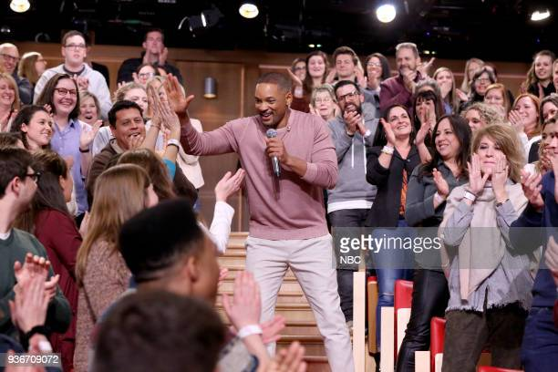Actor Will Smith performs a 'Sitcom Remix' on March 22 2018