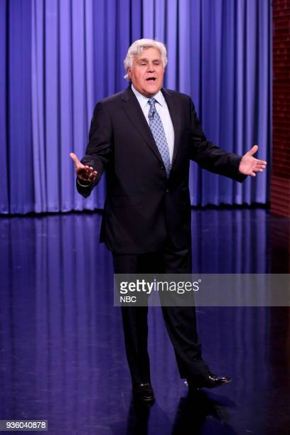 Comedian Jay Leno during the Opening Monologue on March 21 2018