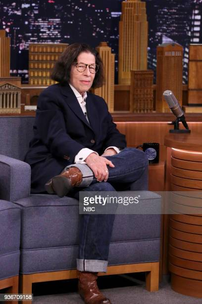 Writer Fran Lebowitz during an interview on March 22 2018