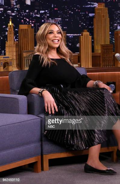 Television Host Wendy Williams during an interview on April 5 2018
