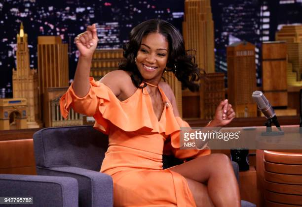 Comedian/Actress Tiffany Haddish during an interview on April 6 2018