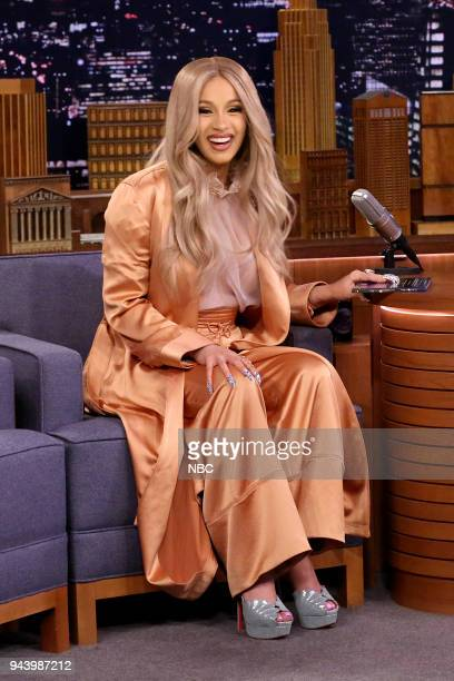 CoHost Cardi B on April 9 2018