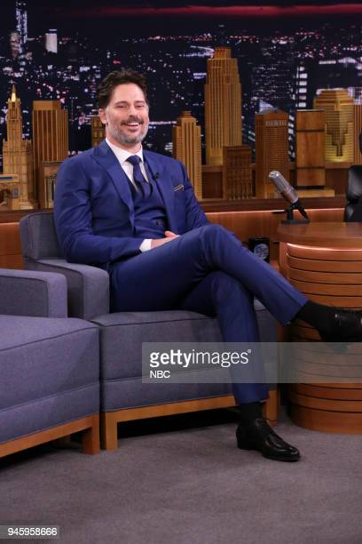 Actor Joe Manganiello during an interview on April 13 2018