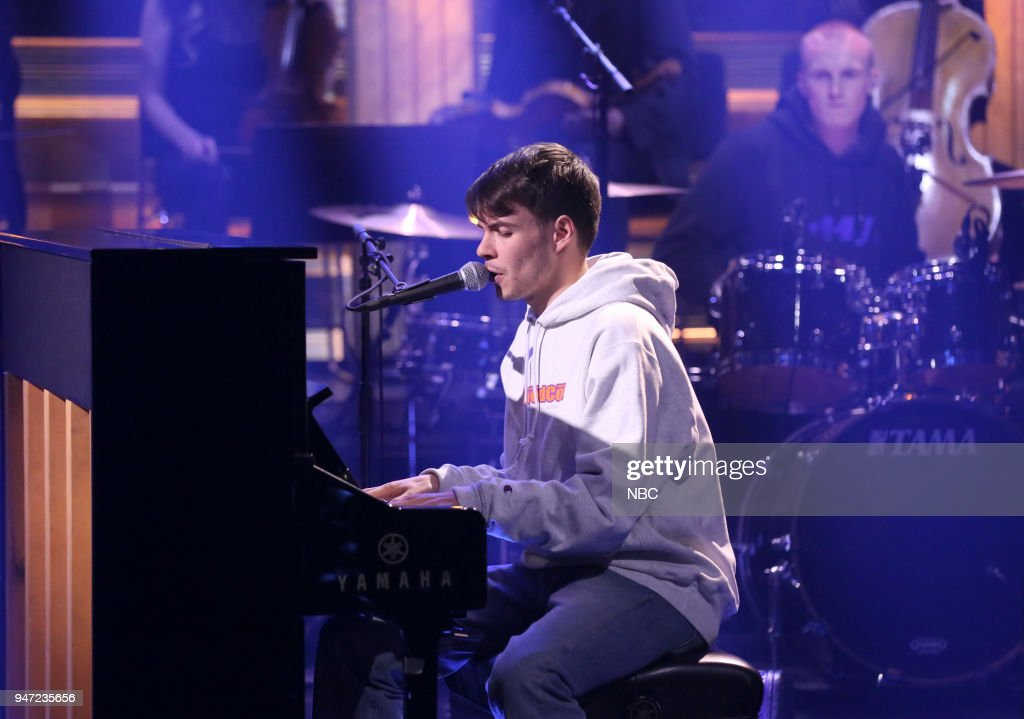 Musical Guest Rex Orange County performs 'Lovin Is Easy' on April 16, 2018 --