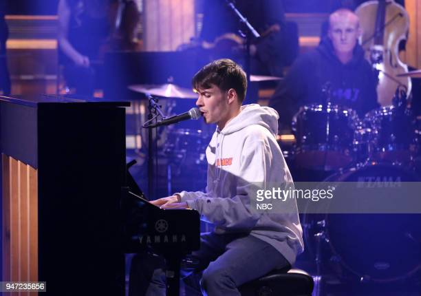 Musical Guest Rex Orange County performs 'Lovin Is Easy' on April 16 2018