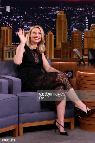 Actress Claire Danes during an interview on April 18 2018