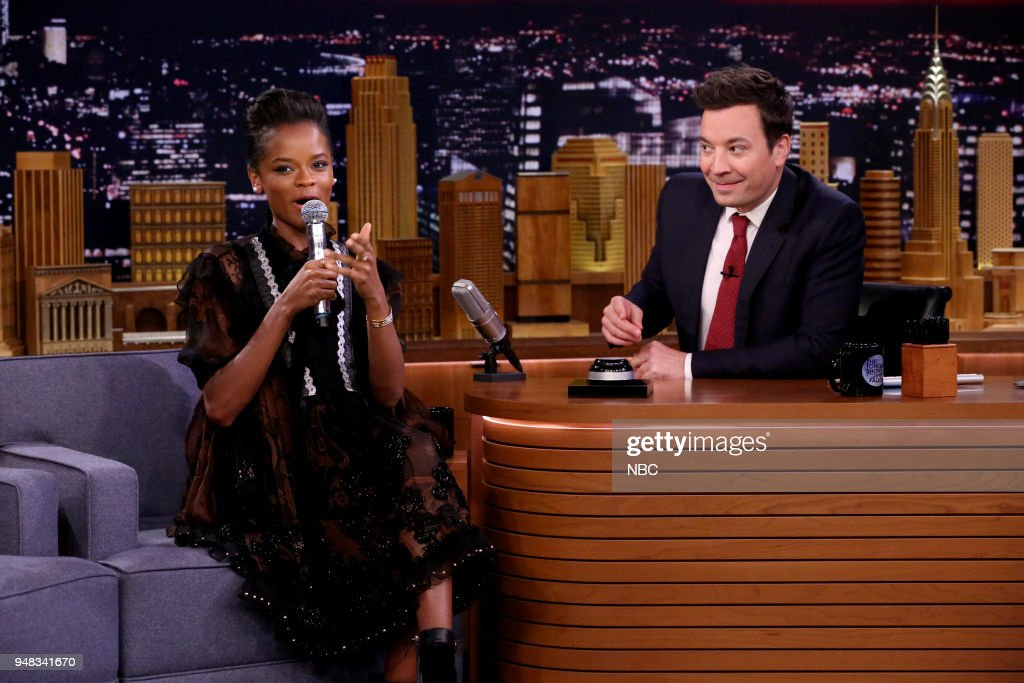 "NBC's ""Tonight Show Starring Jimmy Fallon"" with 							Guests Claire Danes, Letitia Wright, Kevin Delaney"