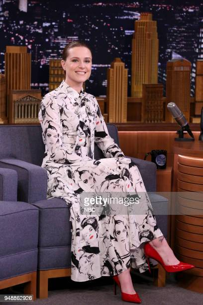Actress Evan Rachel Wood during an interview on April 19 2018