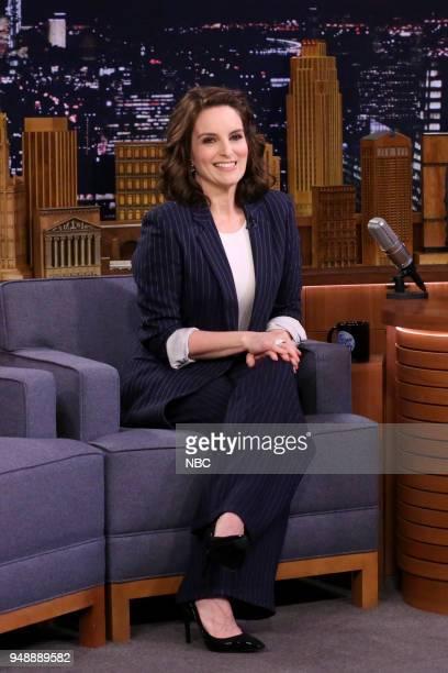 Comedian/Actress/Producer Tina Fey during an interview on April 19 2018
