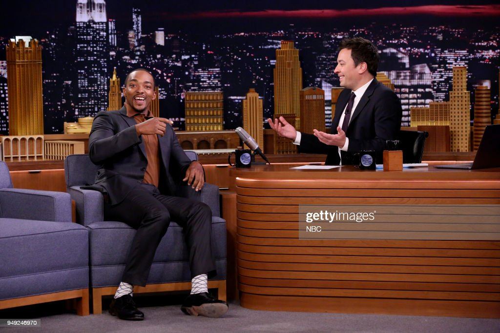"NBC's ""Tonight Show Starring Jimmy Fallon"" with 							Guests Anthony Mackie, Ralph Macchio, Kiry Shabazz"