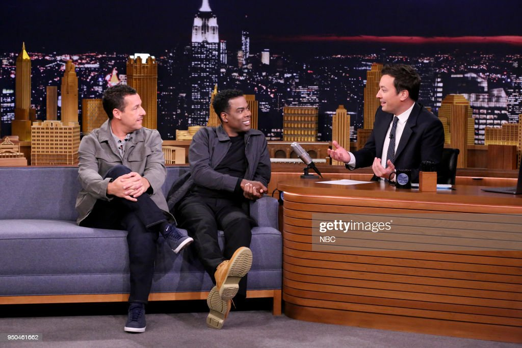 "NBC's ""Tonight Show Starring Jimmy Fallon"" with 							Guests Adam Sandler and Chris Rock, Sting & Shaggy"