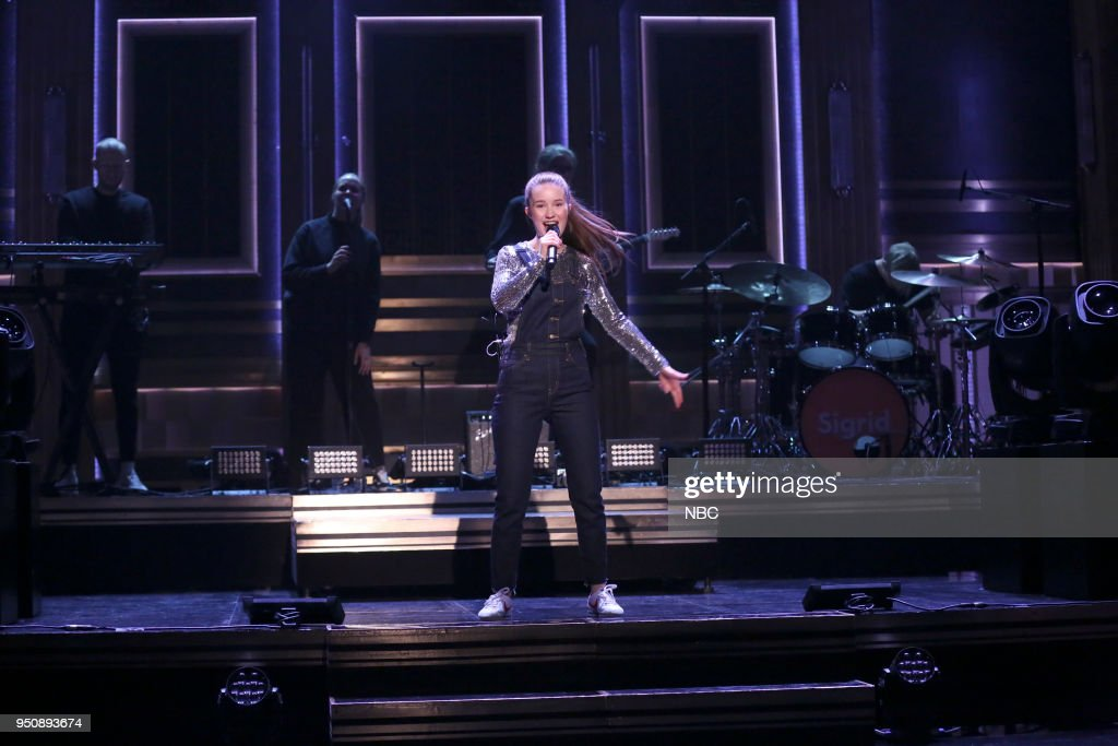 """NBC's """"Tonight Show Starring Jimmy Fallon"""" with Guests Kevin James, Questlove, Sigrid"""