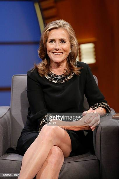 Meredith Vieira during an interview on August 12 2014