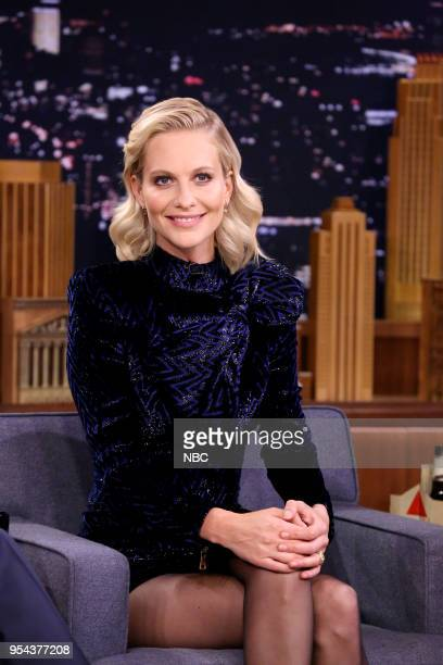 Actress Poppy Delevingne during an interview on May 3 2018