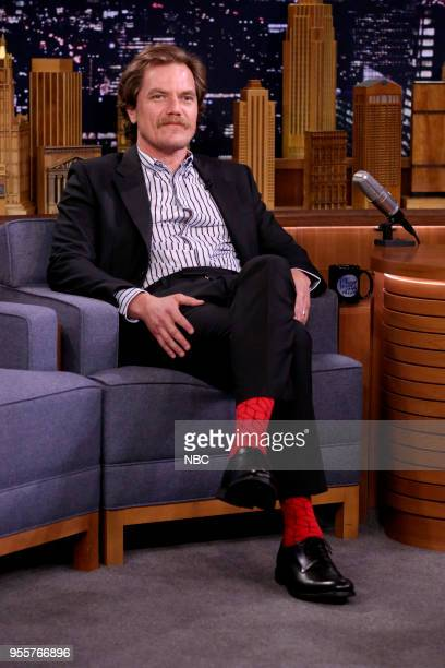 Actor Michael Shannon during an interview on May 7 2018