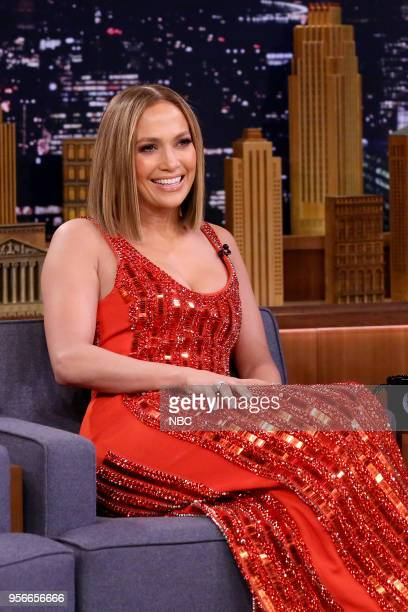 Singer/Actress Jennifer Lopez during an interview on May 9 2018