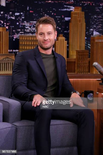 Actor Justin Hartley during an interview on May 11 2018