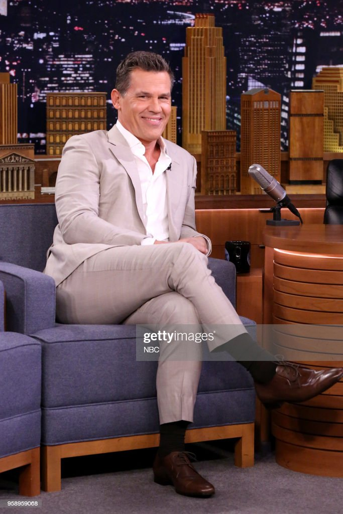 Actor Josh Brolin during an interview on May 15, 2018 --