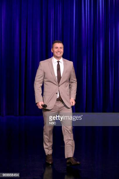 Comedian Pete Lee performs on May 18 2018