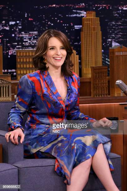 Comedian/Actress/Producer Tina Fey during an interview on May 18 2018