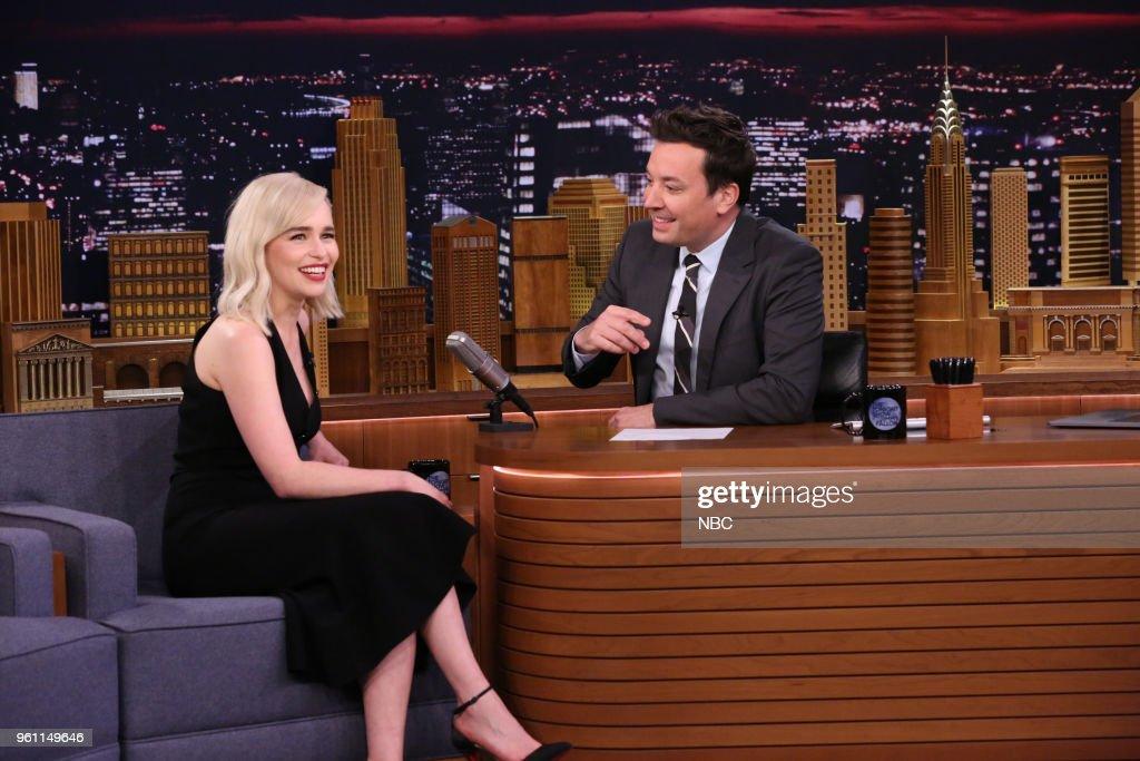 "NBC's ""Tonight Show Starring Jimmy Fallon"" with Guests Emilia Clarke, Matt Bomer, Summer: The Donna Summer Musical"
