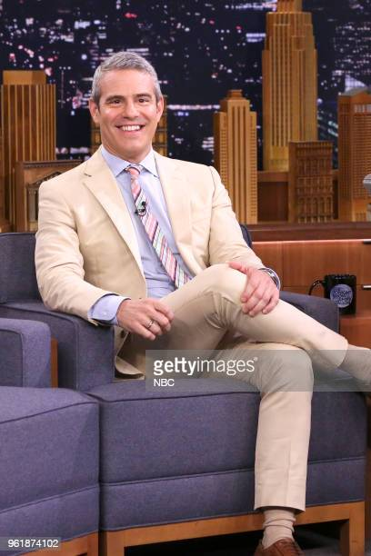 Andy Cohen during an interview on May 23 2018