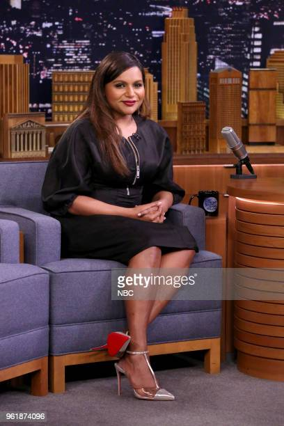 Comedian/Actress Mindy Kaling during an interview on May 23 2018