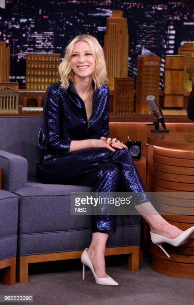 Actress Cate Blanchett during an interview on May 24 2018