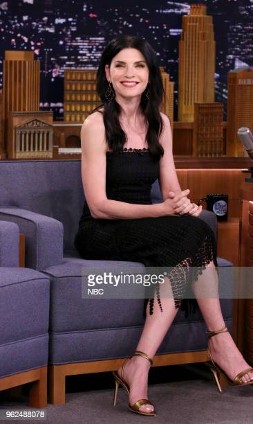 Actress Julianna Margulies during an interview on May 25 2018