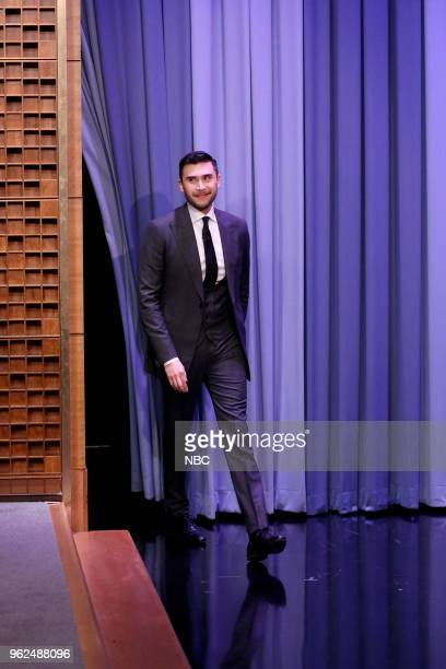 Magician Dan White during an interview with host Jimmy Fallon on May 25 2018