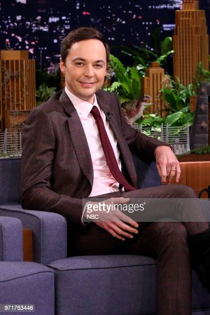Actor Jim Parsons during an interview on June 11 2018