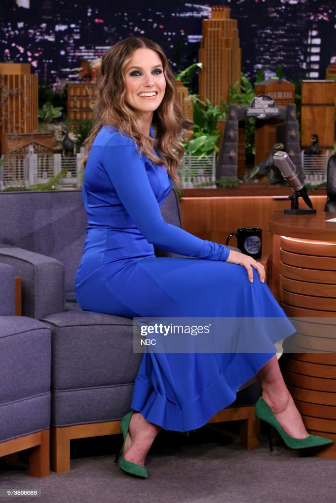 Actress Sophia Bush during an interview on June 13, 2018 --