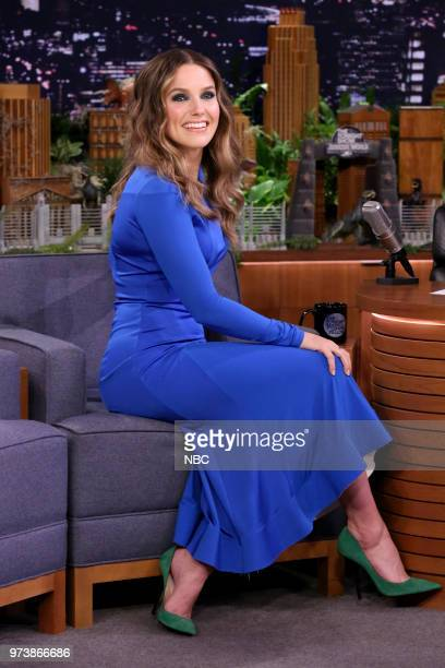 Actress Sophia Bush during an interview on June 13 2018