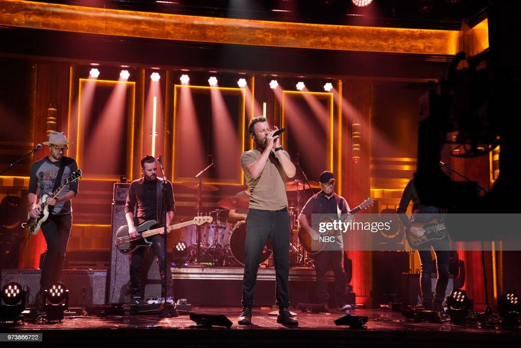 Musical Guest Dierks Bentley performs 'Burning Man' on June 13, 2018 --