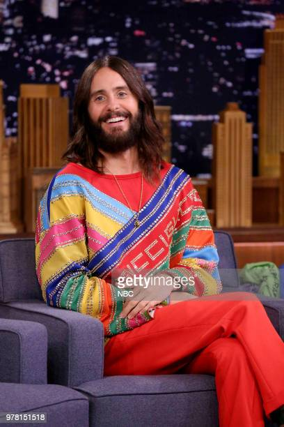 Musician Jared Leto during an interview on June 18 2018