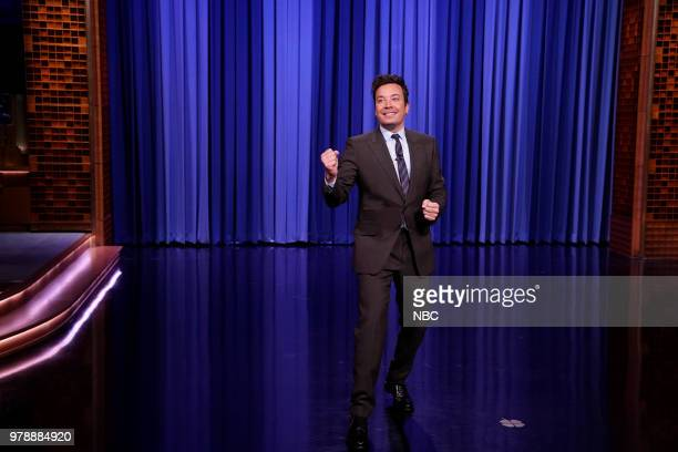 Host Jimmy Fallon during the opening monologue on June 19 2018
