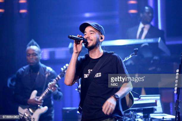 Musical Guest Mike Shinoda performs on June 19 2018
