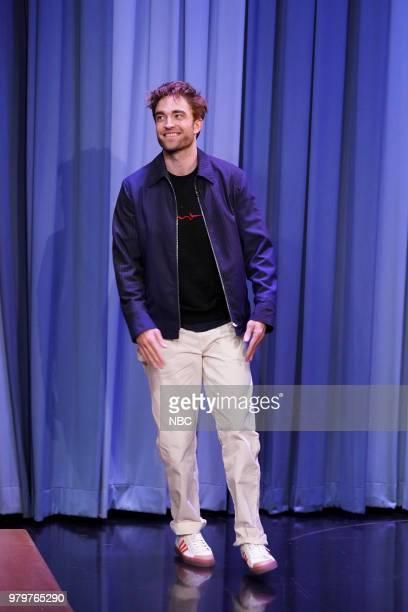 Actor Robert Pattinson during an interview on June 20 2018