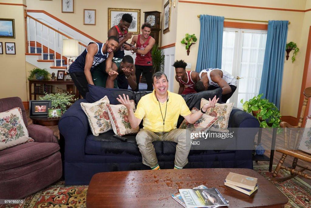 "NBC's ""Tonight Show Starring Jimmy Fallon"" with Guests Robert Pattinson, Pete Davidson, Brockhampton"