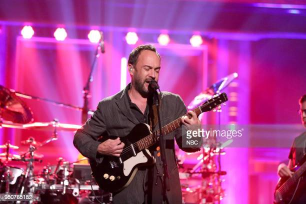 Musical Guest Dave Matthews Band performs Samurai Cop on June 21 2018