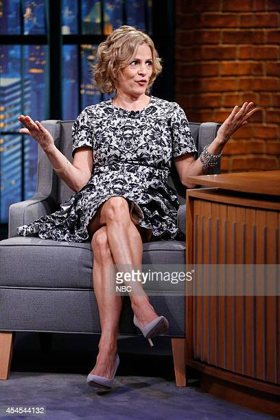 Actress Amy Sedaris during an interview on September 2 2014