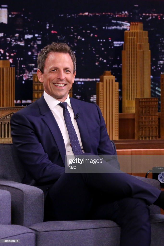 "NBC's ""Tonight Show Starring Jimmy Fallon"" with Guests Seth Meyers, Dominic Cooper, Penn & Teller"