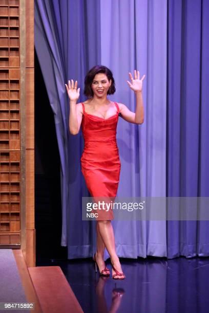 Actress Jenna Dewan arrives on June 26 2018