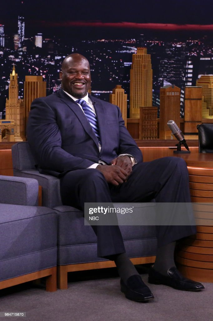 Former professional basketball player Shaquille O'Neal on June 26, 2018 --