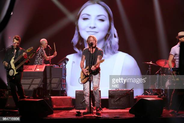 Musical guest Keith Urban performs on June 26 2018
