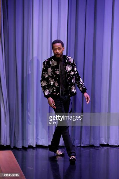 Actor Lakeith Stanfield during an interview on June 29 2018
