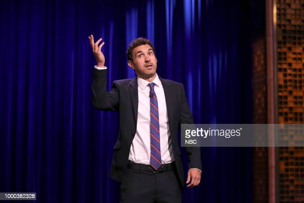 Comedian Mark Normand performs Stand up on July 16 2018