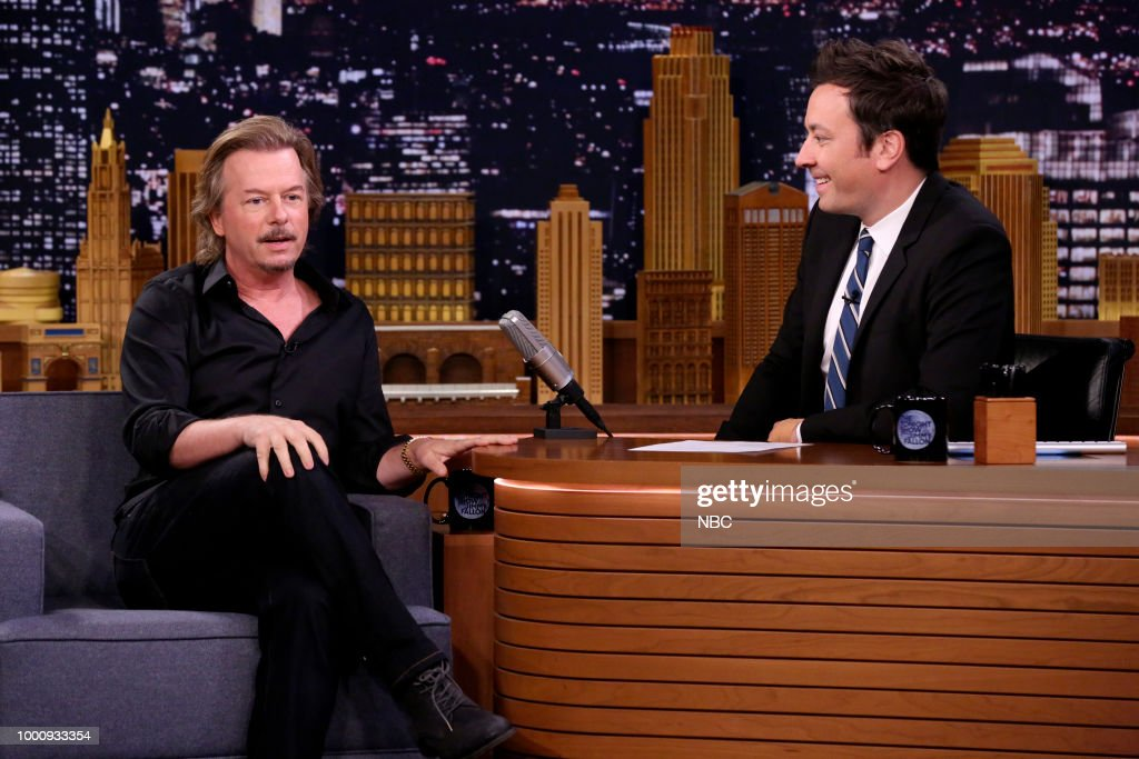 "NBC's ""Tonight Show Starring Jimmy Fallon"" with Guests David Spade, Lily James, Charlie Puth"
