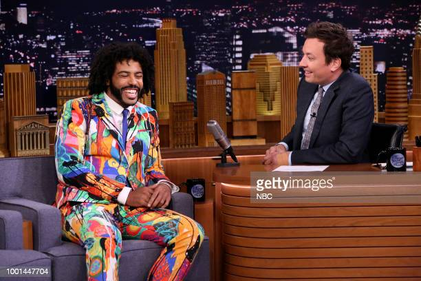 Actor Daveed Diggs during an interview on July 18 2018