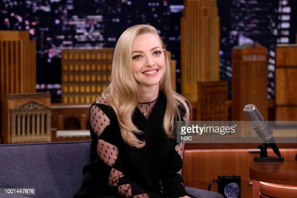 Actress Amanda Seyfried during an interview on July 18 2018